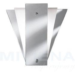 Mirror wall lights kinkiet 1 lustro szkło mleczne