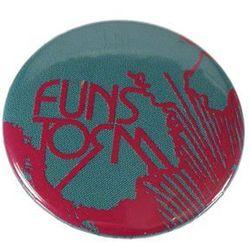 plakietka Funstorm Buttons AU02316 - Blue/Pink