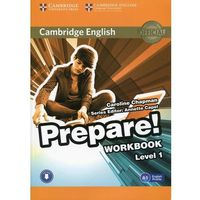 Cambridge English Prepare! Level 1 Workbook with Audio (opr. miękka)