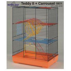 Inter-Zoo klatka dla chomika Teddy II z karuzelą