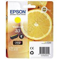 T3344 tusz żółty 33 do Epson XP530 XP630 XP635 XP830 - 4.5ml