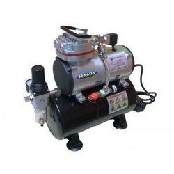 Hobby kompresor z zbiornikem ciśnieniowym Fengda® AS-189