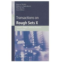 Transactions on Rough Sets X Transactions on Rough Sets X