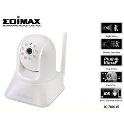 Kamera IP Edimax IC-7001W WiFi N 1xLAN Pan/Tilt Szybka dostawa!