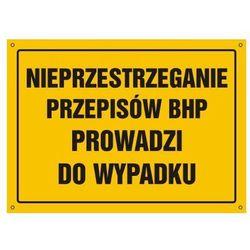 Nieprzestrzeganie przepisów BHP prowadzi do wypadku