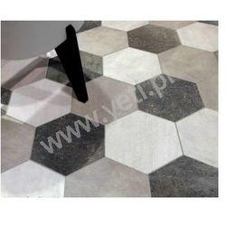 Gres CIR Doclands hexagon 24x27,7 BLACK