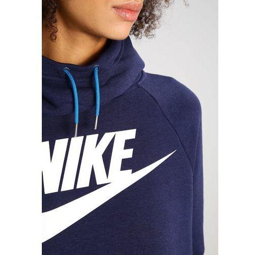 Nike Sportswear RALLY Bluza z kapturem obsidianobsidian