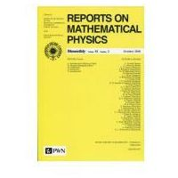 Reports on Mathematical Physics 82/2 Polska (opr. miękka)