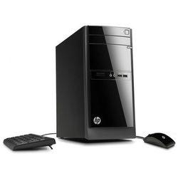 Komputer stacjonarny HP 110-210 A6-5200 8G 128GB SSD WIFI Win10 DVD-RW + klawiatura, mysz