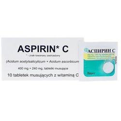 Aspirin C tabl.mus. 0,4g+0,24g 10 tabl.