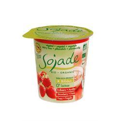 produkt sojowy truskawkowy bio 125 g - sojade