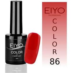 Lakier hybrydowy EIYO Elegance - kolor nr 86 - Czerwień Meksykańska - 15 ml Lakiery hybrydowe