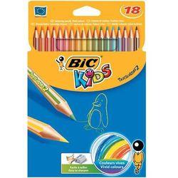 Kredki ołówkowe Bic Kids Tropicolors2 832567 18kol.