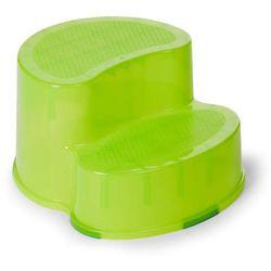 Podest dwustopniowy i krzesełko ergonomiczne 2w1 limonka