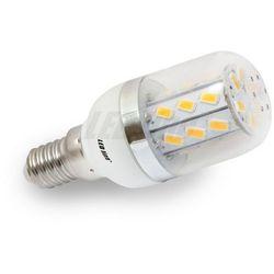 Żarówka LED 27 SMD E14 230V biała ciepła 5W - biała ciepła