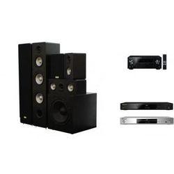 PIONEER VSX-329 + BDP-180 + TAGA TAV-406 + TSW-90 - Kino domowe - Autoryzowany sprzedawca