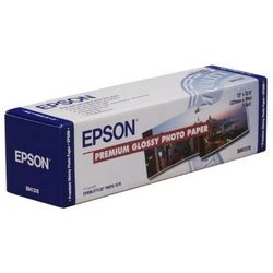 Epson C13S041379 Premium Glossy Photo Paper Roll, 329 mm. x 10 m, 255 g/m2