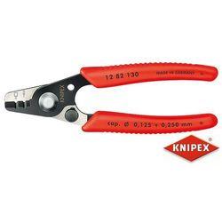 KNIPEX Szczypce do ściągania izolacji ze światłowodów, PCW (12 82 130 SB)