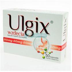 Ulgix wzdęcia 80 mg x 50 kaps