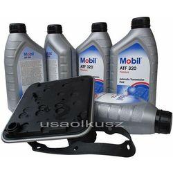Filtr oraz olej skrzyni 4SPD Mobil ATF320 Chrysler Sebring
