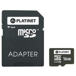 Pamięć microSD 16GB Platinet Class 10