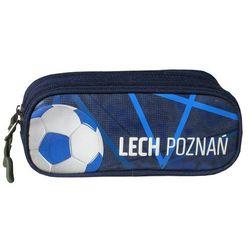 Lech Poznań, piórnik, granat Darmowa dostawa do sklepów SMYK