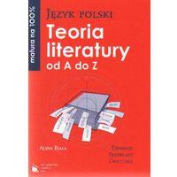 Język polski. Teoria literatury od A do Z (opr. miękka)