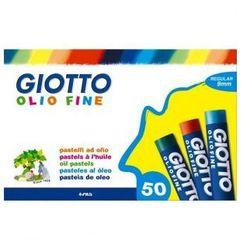 Pastele olejne Giotto 50 kolorów