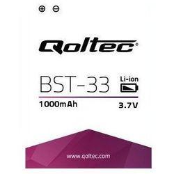 Qoltec Bateria do smartfona Sony Ericsson BST-33, 1000mAh