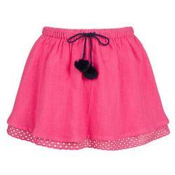 spodnice spodniczki przezroczysta spodnica z haftem w