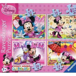 Puzzle Klub Przyjaciół Myszki Miki 4w1