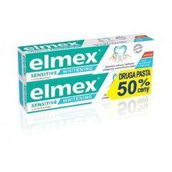 Elmex Sensitive Whitening Pasta do zebow wybielajaca 75ml x 2