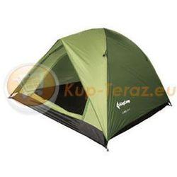 Namiot turystyczny 3 osobowy lekki z tropikiem King Camp FAMILY 3 zielony