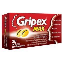 GRIPEX MAX x 20 tabletek