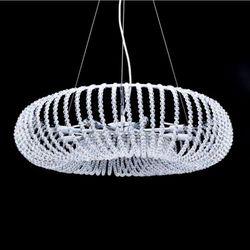 Żyrandol LAMPA wisząca GRAZIANA LDP 10061 Lumina Deco OPRAWA kryształowa ZWIS crystal przezroczysty