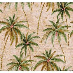 TR 20005 Tapeta Seabrook palmy kokosowe Trinidad