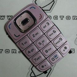 Klawiatura Nokia 6131 różowa