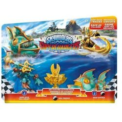 Zestaw figurek Skylanders: Superchargers - Deep Dive Gill Grunt, Reef Ripper, Villain Sea Trophy