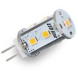 Żarówka LED 9 SMD G4 12V AC/DC 1,8W biała zimna CORN - biała zimna