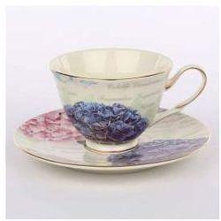Zestaw do kawy dla 6 osób porcelana Altom Hortensja (12 el.)