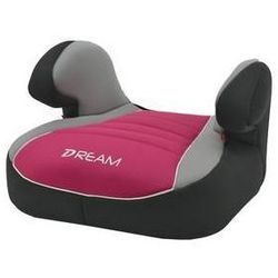 Fotel samochodowy Nania Dream Luxe 2015 Agora Framboise 15-36 kg Czarna/Różowa