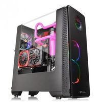 THERMALTAKE View 28 RGB Riing USB3.0 Curved Glass - Black CA-1H2-00M1WN-01
