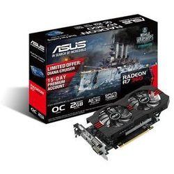 Karta graficzna ASUS Radeon R7 360 2048MB DDR5/128b H/D PCI-E OC R7360-OC-2GD5-V2 - prawie 2000 punktów odbioru - Paczkomaty, Stacje Orlen