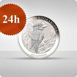 Australijska Kookaburra 1 uncja srebra - wysyłka 24 h!