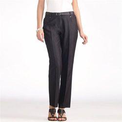 Dżinsy z elastycznej serży, wewnętrzna długość nogawki 70 cm