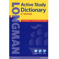 Longman Active Study Dictionary + CD-ROM (Miękka Oprawa) 5th Edition (opr. miękka)