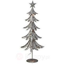 Błyszczące drzewko dekoracyjne LED Skogaholm 45 cm