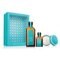 Moroccanoil Zestaw Kuracja 125 ml + Kuracja 25 ml + Świeczka