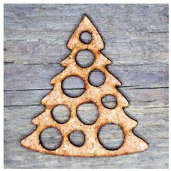 kolekcja ciasteczkowa CHOINKA dekoracja z korka