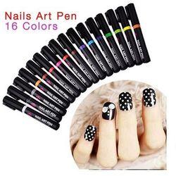 Nail Art Pen Mazak do zdobienia paznokci Nr 3 Srebrny 7ml - Nr 3 Srebrny